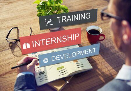Internship Training Development Business Knowledge Concept