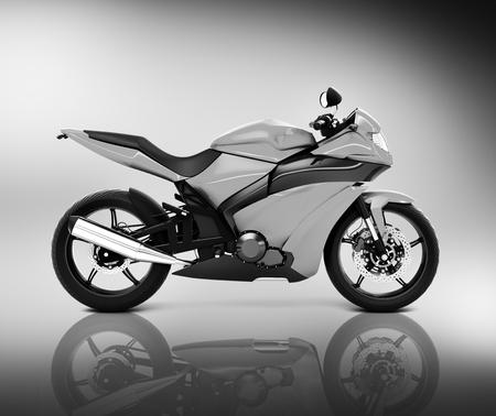 Stylish motorcycle Stock fotó