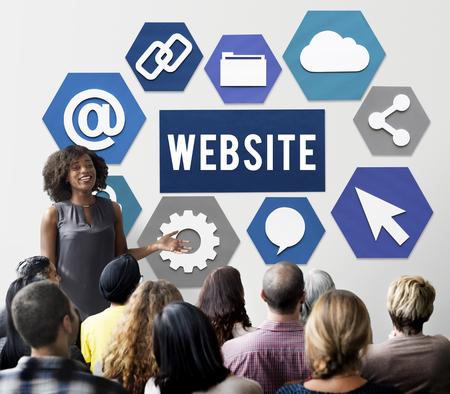 Seminar with website concept