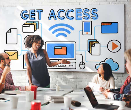 availability: Access Accessible Availability Free Open Possible Concept Stock Photo