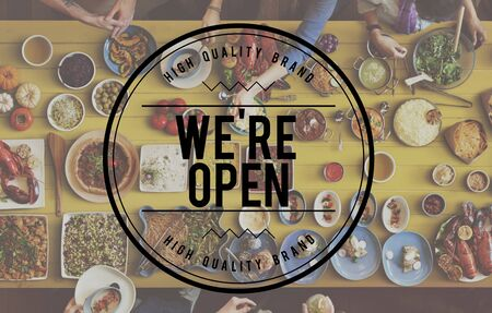 wine and dine: Welcome Hospitality Guest We Open Concept