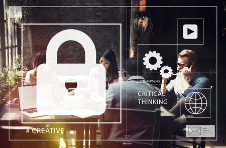 creativity: Business Startup Coworking Creativity Concept