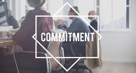 obligation: Commitment Compliance Obligation Responsibility Concept Stock Photo