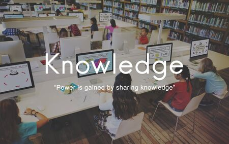 perceptive: Knowledge Learn Education People Graphic Concept Stock Photo