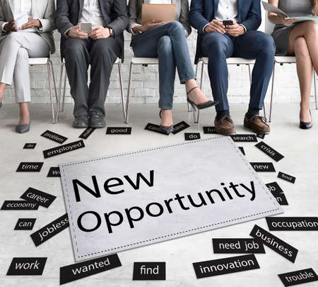 new opportunity: New Opportunity Achievement Choice Chance Concept Stock Photo