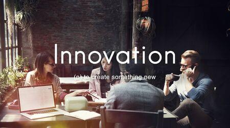 business innovation: Innovation Create New Development Business Concept