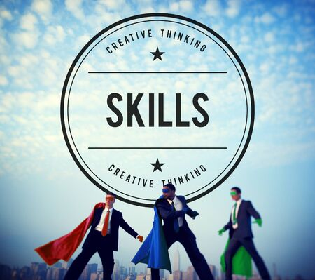 proficiency: Skills Talent Expert Aptitude Proficiency Professional Concept