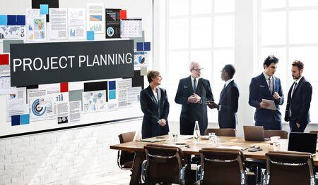 explaining: Project Planning Information Explaining Ideas Concept