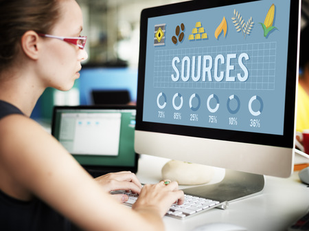 circumstance: Sources Career Circumstance Management People Concept Stock Photo