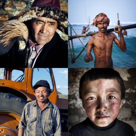 mixed race: Mixed Race Ethnicity Descent Concept Stock Photo