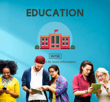 college student: Education University School Study Learn Concept