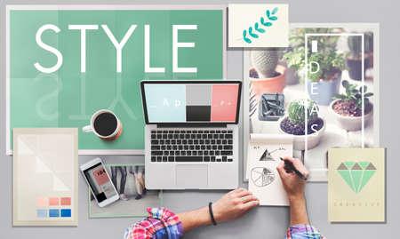 creativity: Style Design Creativity Trends Concept