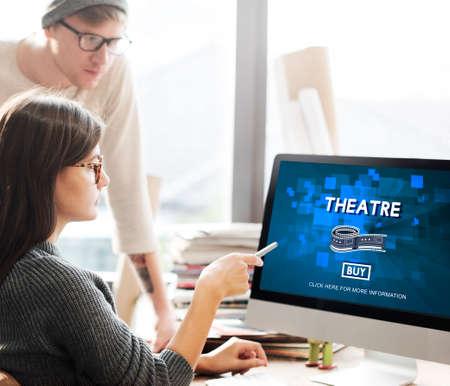 hall monitors: Theatre Theater Cinema Film Hall Audience Concept