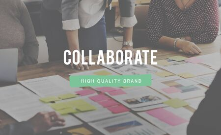 Collaborate Group Team Partnership Concept