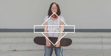 indie: Fashion Hip Indie Trendy Lifestyle Concept
