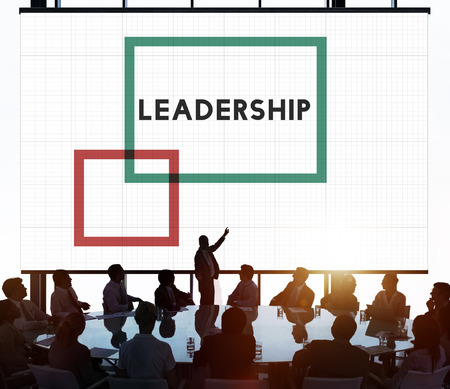 and authority: Lead Leadeship Boss Manager Authority Concept