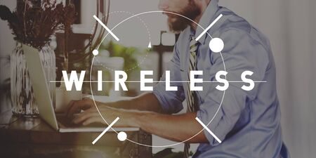 hotspot: Wireless Hotspot Technology Sharing Networking Concept