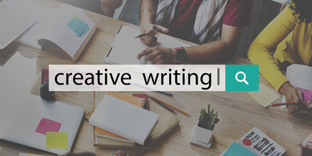 creative writing: Creative Writing Ideas Design Inspiration Imagination Concept Stock Photo