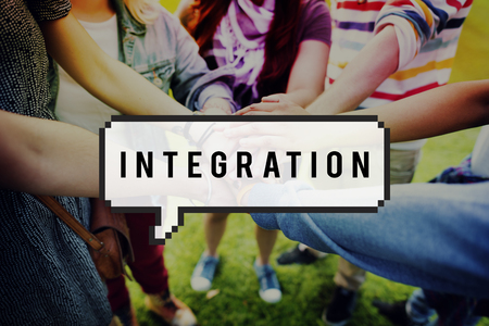 to incorporate: Integration Incorporate Consolidate Immigration Concept