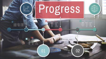 progressive art: Progress Improvement Investment Mission Develoment Concept