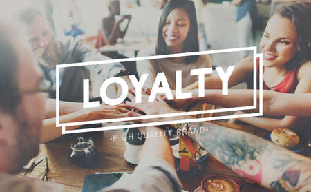 Loyalty Honesty Trust Sincerity Concept Stock Photo