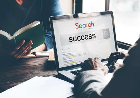 accomplishment: Success Accomplishment Achievement Growth Successful Concept