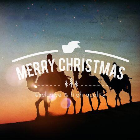 happy christmas: Merry Christmas Celebrate Festive Happy Santa Concept