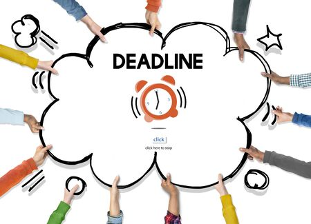 countdown: Time Alarm Deadline Countdown Concept Stock Photo