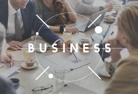 Geschäftsleben Großunter Enterprise Development Konzept