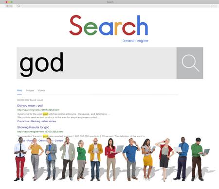 God Believe Holy Bible Jesus Concept Stock Photo