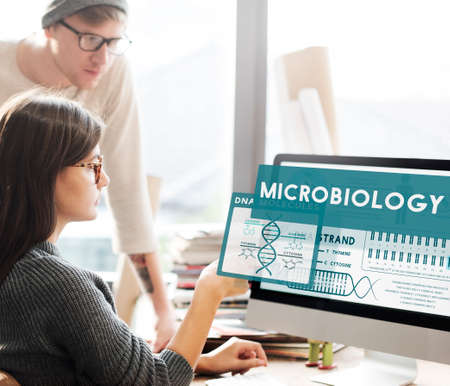 microbiologia: MicroBiology Bacteria Disease Illness Laboratory Concept