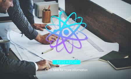information science: Science Research Agronomy Experiment Information Concept Stock Photo