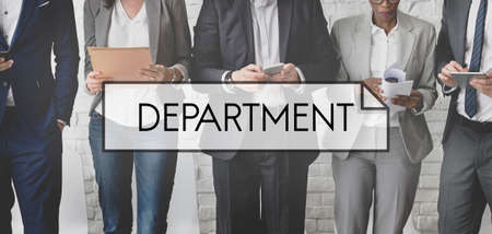 diversity domain: Department Branch Agency Division Organization Concept Stock Photo