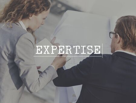 expertise: Expertise Insight Intelligence Perfection Concept