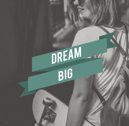 hopeful: Dream Big Dreamer Hopeful Inspiration Concept