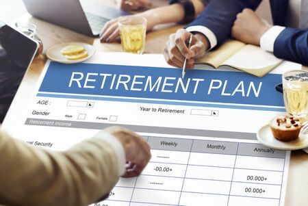 seniority: Retirement Plan Wealth Investment Seniority Concept