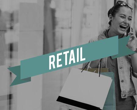 consumer: Retail Commerce Consumer Customer Purchase Concept