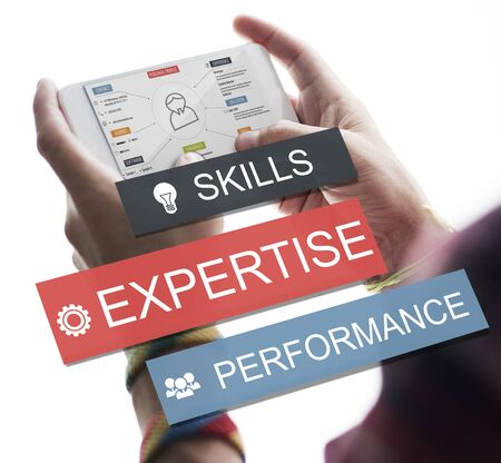abilities: Expersite Skills Performance Business Abilities Concept