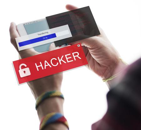 criminal: Hacker Cyber Crime Criminal Computer Concept