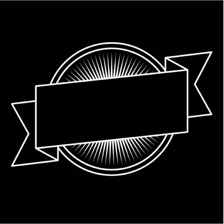 Badge design typography design monochrome label 向量圖像