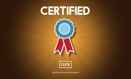 approval: Certified Approval Agreement Confirmation Concept