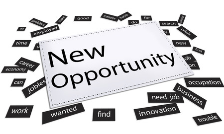 new opportunity: New Opportunity Chance Choice Decision Occasion Opportunities Concept Stock Photo
