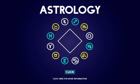 signes du zodiaque: Astrologie Horoscope Signe Concept