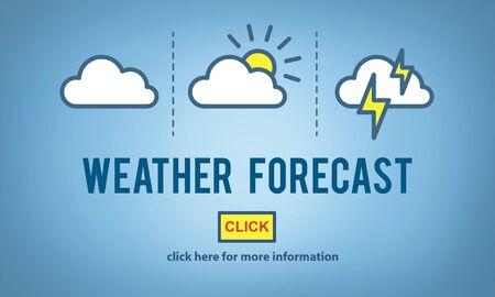 prediction: Weather Forecast Measure Prediction Temperature Concept