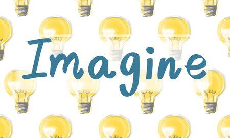 visualise: Imagine Imagination Innovation Think Ideas Concept
