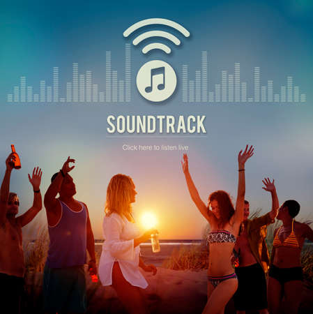 electronic music: Soundtrack Audio Design Display Electronic Music Concept