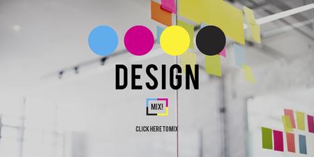 Graphic Design creativo di pianificazione Scopo Progetto Concetto