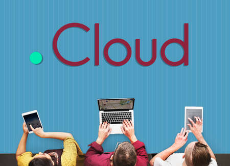 streaming: Cloud Transfer Sync Streaming Data Concept