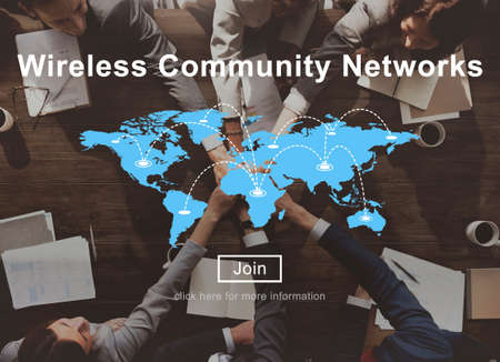 hotspot: Wireless Community Networks Technology Hotspot Concept