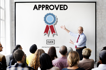 place to learn: Approved Accept Agreement Authority Document Concept
